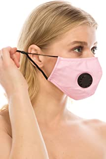 JTB Reusable Washable Mouth and Nose Cover Replaceable 5 Layer Filter Comfort. (COMES WITH 2 FILTERS)