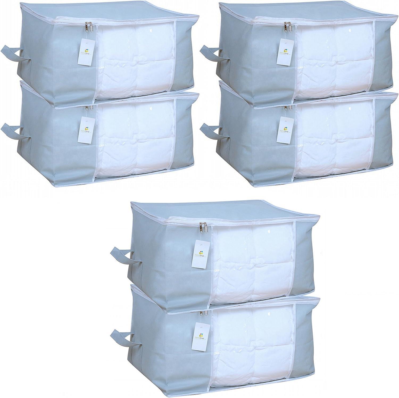 HomeStrap Big Underbed 2021 model Storage Bag Organiser Grey - Se Super sale period limited