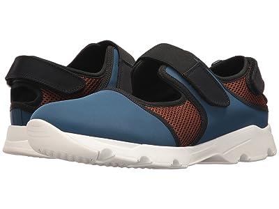 MARNI Neoprene Sneaker (Blue/Brown/Black) Men