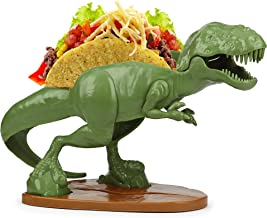 Tacosaurus Rex Taco Holder - T-Rex Dinosaur Taco Stand Holds 2 Tacos, Top Rated Novelty Taco Holder
