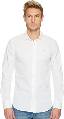 Tommy Jeans - Original Stretch Long Sleeve Shirt