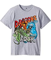 Stella McCartney Kids - Rock Dragons Short Sleeve T-Shirt (Toddler/Little Kids/Big Kids)