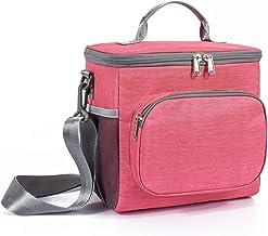 حقيبة الغداء المحمولة المعزولة حقيبة الغداء للنساء والأطفال قابلة لإعادة الاستخدام حقيبة الغداء حمل هيذر روز