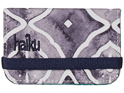 Haiku RFID Mini Wallet (Geo Wash Print) Wallet Handbags