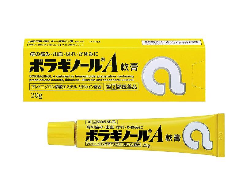 論文テープ機械的に【指定第2類医薬品】ボラギノールA軟膏 20g
