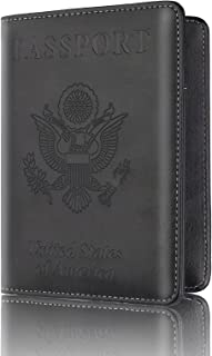 Vintage Compass Leatherette Passport Wallet Style Case Cover For Travel