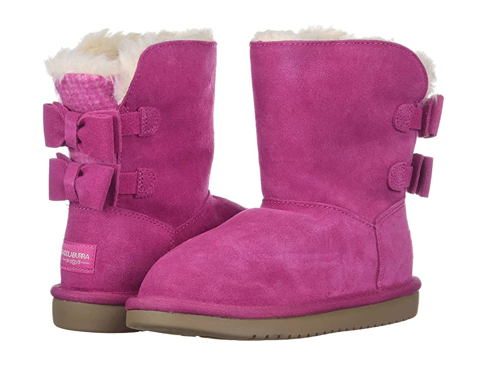 Koolaburra by UGG Attie (Little Kid/Big Kid) (Raspberry Rose) Women's Shoes