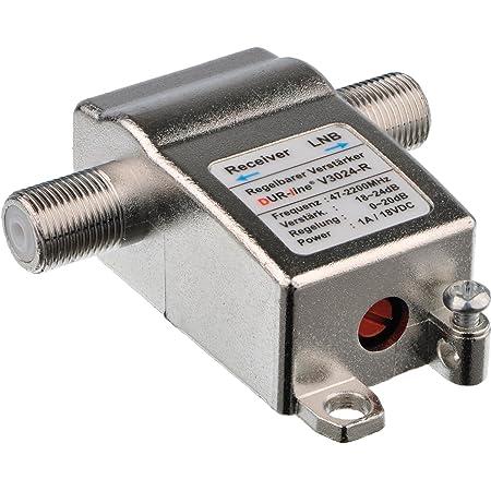 Dur Line V3024 R Regelbarer Inline Verstärker Elektronik