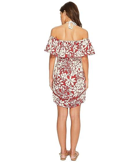 Off Cover Up the Carter Shanghai Shoulder Red Dress 6HxnwEZYvq