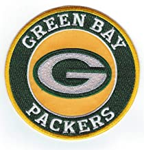 Iron-on Patch Green Bay Packers Football Jersey 4 inches