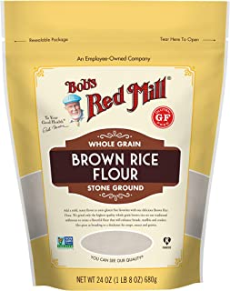 Bob's Red Mill Gluten Free Brown Rice Flour, 24 Oz