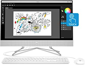 HP 24-inch All-in-One Touchscreen Desktop Computer, AMD...