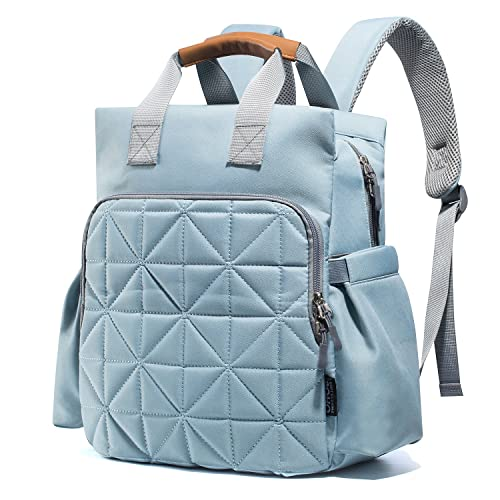 e319cc185e20 Diaper Bag Backpack for Mom or Dad with Stroller Straps