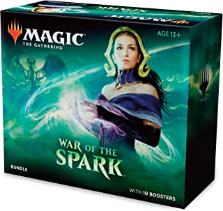 Magic: The Gathering War of The Spark Bundle | 10 Booster Packs | Accessories |..