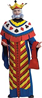 Deluxe King Playing Card Costume for Men