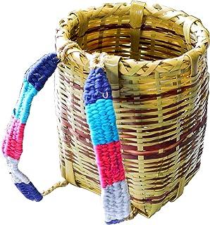 竹背負い籠 丸小 φ24×高さ33cm