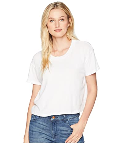 Alternative Headliner Cropped Tee (White) Women