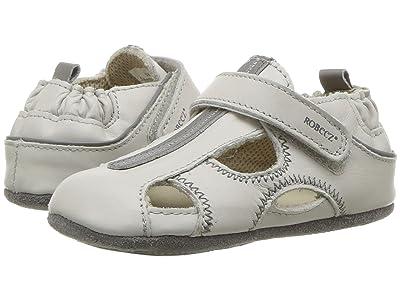 Robeez Rugged Rob Mini Shoez (Infant/Toddler) (Light Grey) Boys Shoes