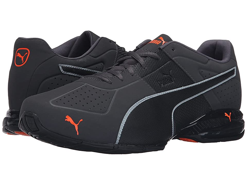 PUMA Cell Surin 2 Matte (Asphalt/Black/Shocking Orange) Men