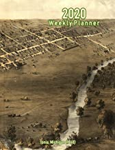 2020 Weekly Planner: Ionia, Michigan (1868): Vintage Panoramic Map Cover