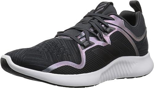 Adidas Wohommes EdgeBounce FonctionneHommest chaussures, voiturebon noir Night Metallic, 8.5 M US