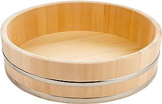 ヤマコー 木製ステン箍 飯台(サワラ材) 60cm