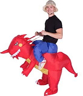 Bodysocks Inflatable Dragon Fancy Dress Costume