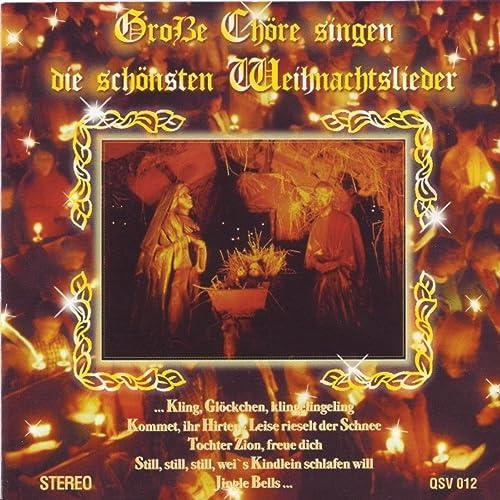 Chöre Singen Weihnachtslieder.Große Chöre Singen Die Schönsten Weihnachtslieder German Choires