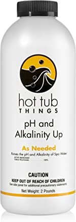 Hot Tub Things pH and Alkalinity Up 2 Pounds - Protects Your Spa From Corrosion