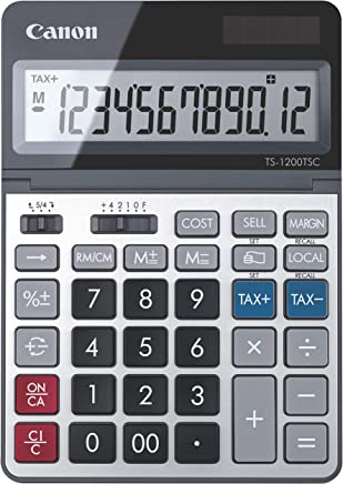 $24 Get Canon TS-1200TSC Desktop Calculator with LCD Display