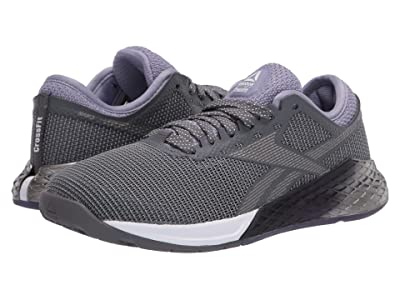 Reebok Nano 9 (Cold Grey/Violet Haze/White) Women