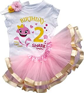 2nd Birthday Outfit Baby Girl Tutu Dress