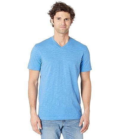 Mod-o-doc El Porto Short Sleeve V-Neck Tee (Blue Clarity) Men