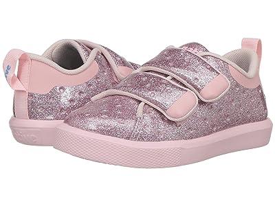 Native Kids Shoes Monaco HL Glitter (Toddler/Little Kid) (Pink Glitter/Cold Pink) Girls Shoes
