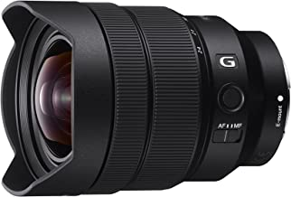 Sony SEL1224G 12-24mm f/4-22 Fixed Zoom Camera Lens, Black (Renewed)