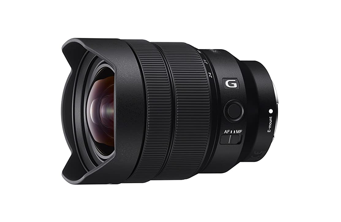 Sony SEL1224G 12-24mm f/4-22 Fixed Zoom Camera Lens, Black (Certified Refurbished)