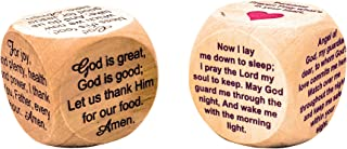Faithworks Prayer Cubes for Mealtime and Bedtime (Set of 2)