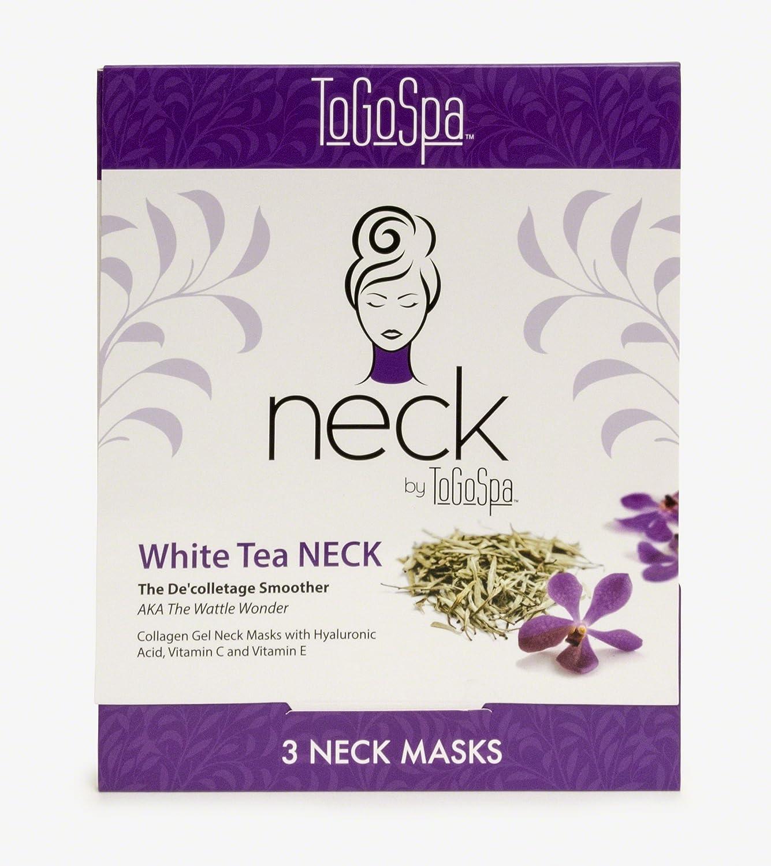 White Tea NECK ◆セール特価品◆ by ToGoSpa - Mask Decollet Sheets 公式 Collagen Neck
