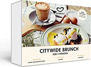 Citywide Brunch for Two in New York Experience Gift Card NYC - GO DREAM - Sent in a Gift Package