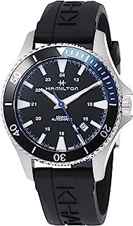 Hamilton H82315331 Khaki Navy Scuba Men's Watch Black 40mm Stainless Steel
