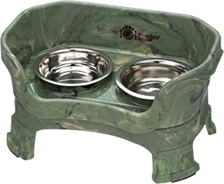 Best elevated dog feeder with ceramic bowls Reviews