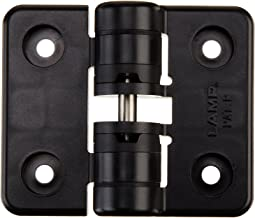 Black 15.99 in-lbf Symmetric Torque Zinc Alloy Southco E6//ST Series Constant Torque Position Control Hinge with Holes 2 Leaf Height