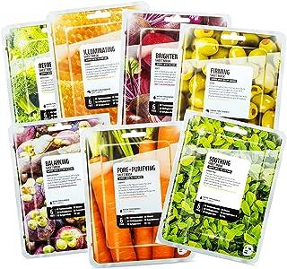 [FARMSKIN] ファームスキン スーパーフード サラダフェイスマスク シートマスク フェイスシート 肌マスク 集中ケア エッセンス Carrot Salad Set (7枚入り)
