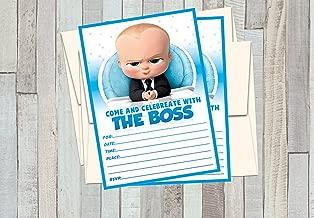 Best boss baby invitations Reviews