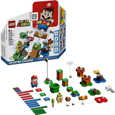 LEGO Kit de construcción Super Mario™ 71360 Recorrido Inicial: Aventuras con Mario (231 Piezas)