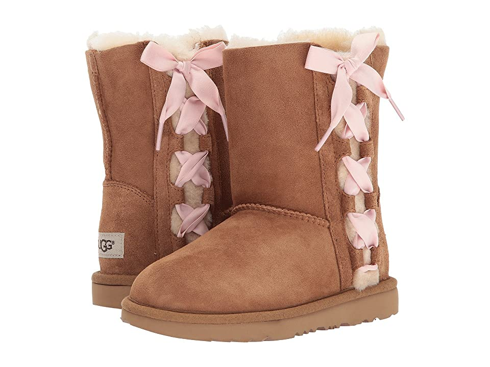 UGG Kids Pala (Little Kid/Big Kid) (Chestnut) Girls Shoes