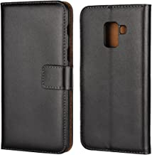 Samsung Galaxy A5 (2018) Case,iCoverCase Premium Leather Case [Kickstand & Magnetic Closure] [Card Slot] Shockproof Folio ...