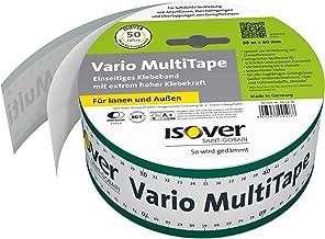 Isover 561970 Vario MultiTape, binnen en buiten, m x 60 mm, 30 lfm plakband, meerkleurig