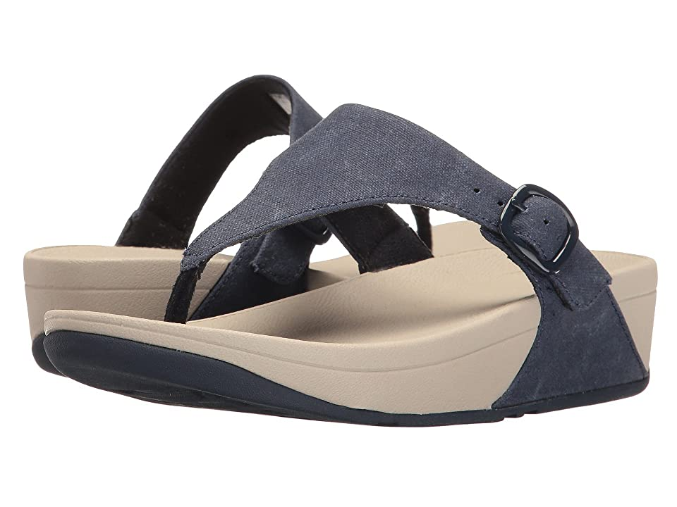 FitFlop The Skinny Canvas (Midnight Navy) Women