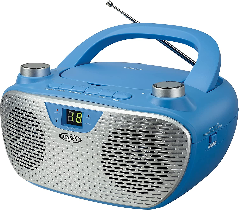 JENSEN CD-485-BL Portable Stereo CD with Atlanta Mall AM Player FM Sales results No. 1 Rad